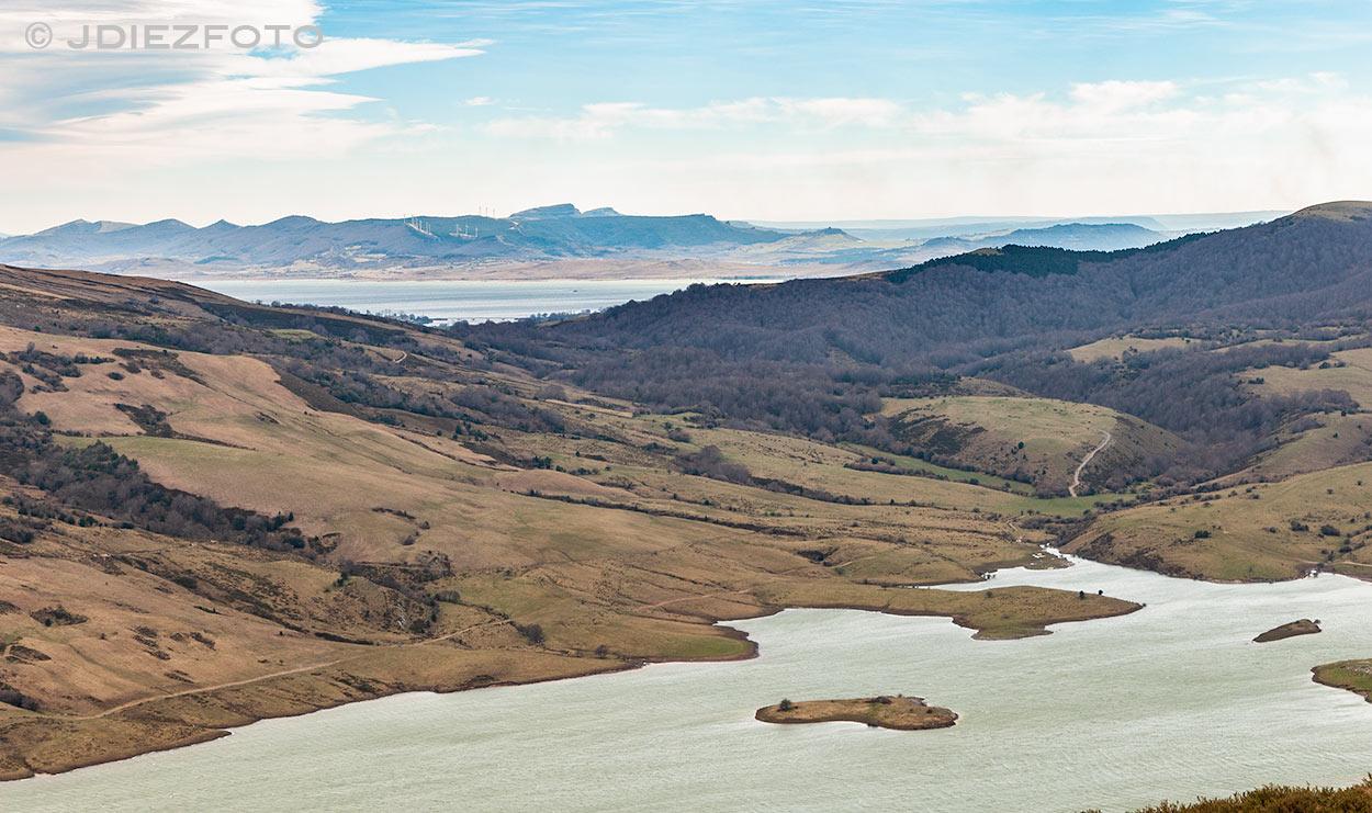 Embalse de Alsa y Embalse del Ebro