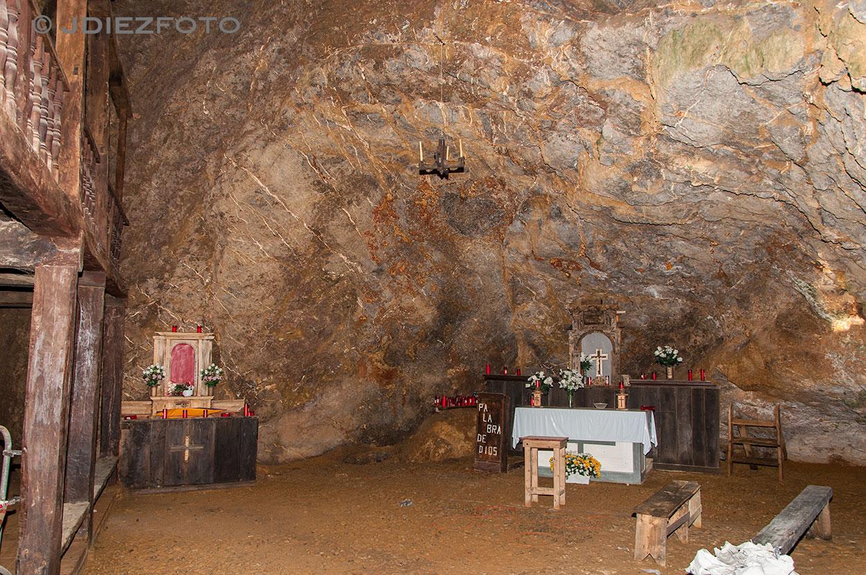 Interior Ermita de Santa Justa