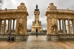 Monumento a Alfonso XII. Estanque Grande del Parque del Retiro