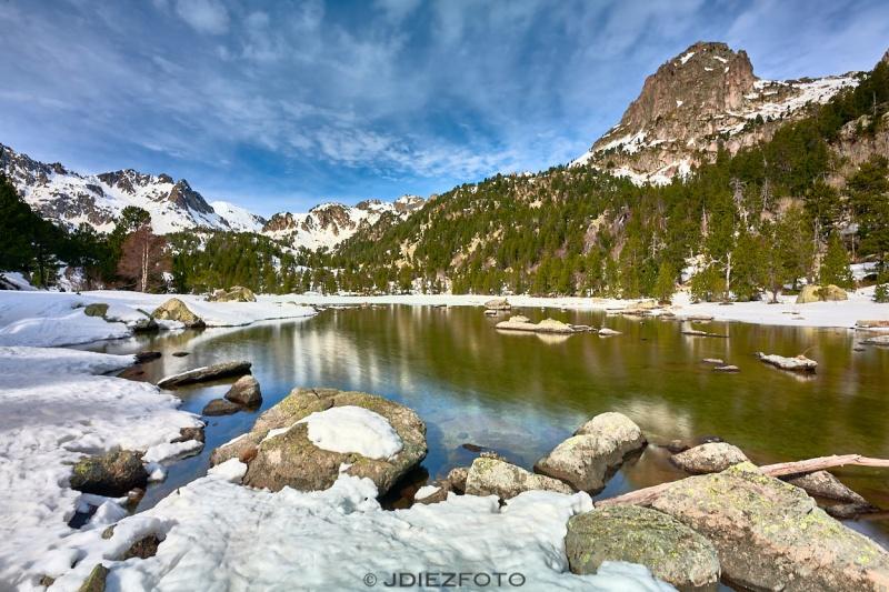 Lago de Ratera. Parque Nacional de Aigüestortes