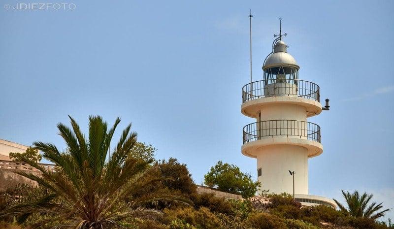 Faro de Huertas en Alicante