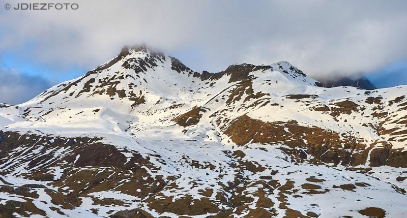 Pic du Midi. Frontera del Portalet con Francia
