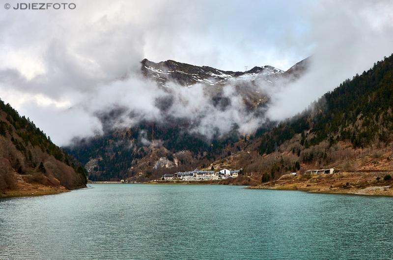 Lago de Fabreges. Francia