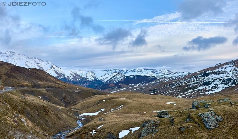 Valle de Tena desde el Portalet