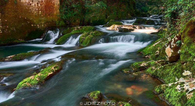 Río Aguanaz en la Fuente del Francés