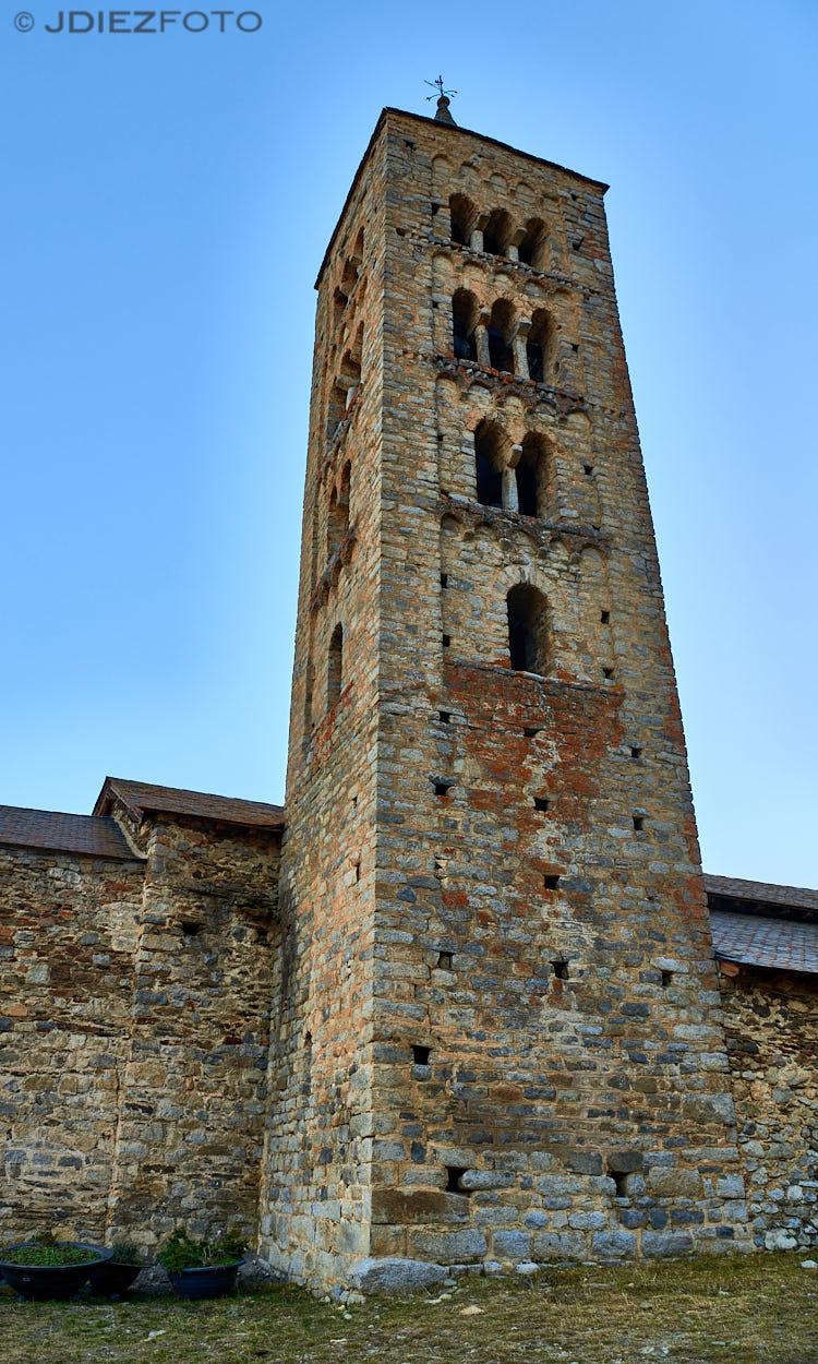 Campanario Iglesia de San Justo y San Pastor de Son