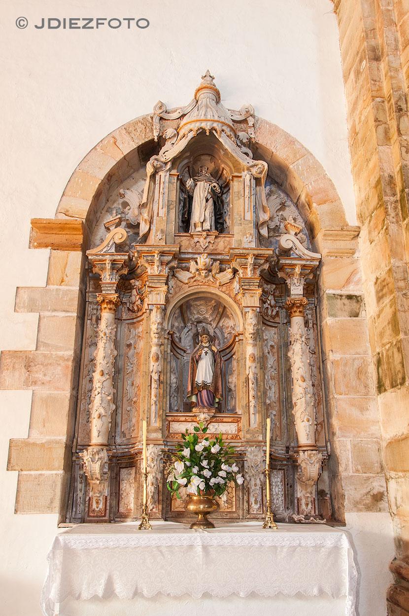 Retablo Iglesia San Martín de Cigüenza