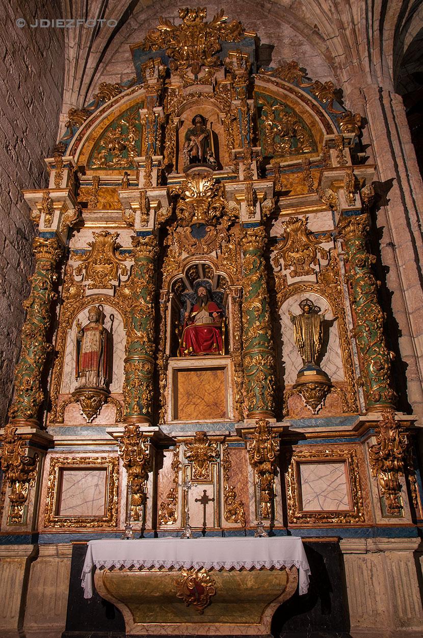 Retablo Mayor. Simón de Haro y Pedro de la Puente