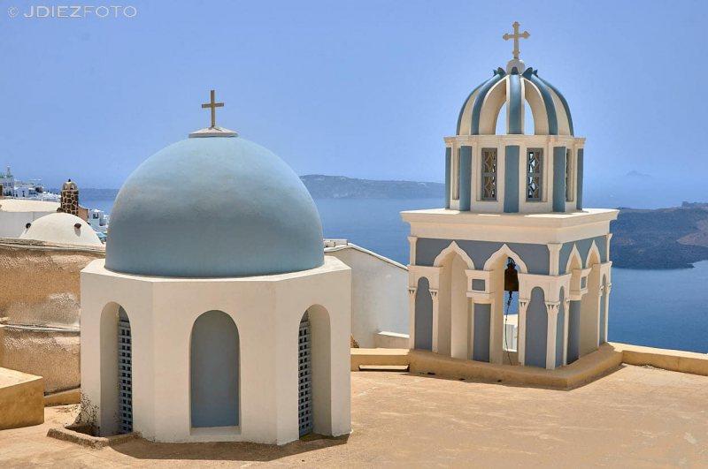 Iglesia del Evangelista san Marcos en Fira