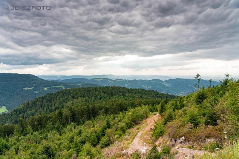 Vistas desde el Lago Mummelsee