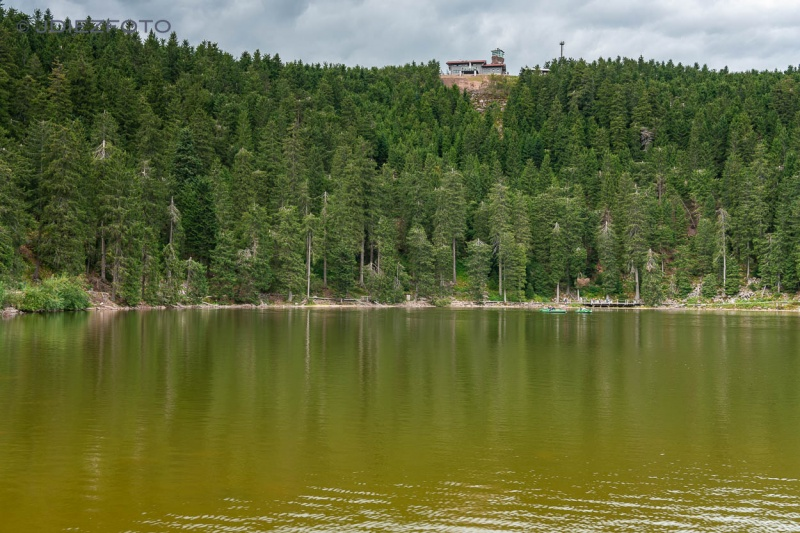 Lago Mummelsee. Selva Negra