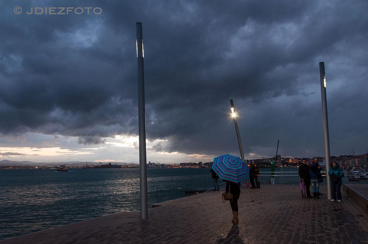 Lloviendo en la Duna de Zaera