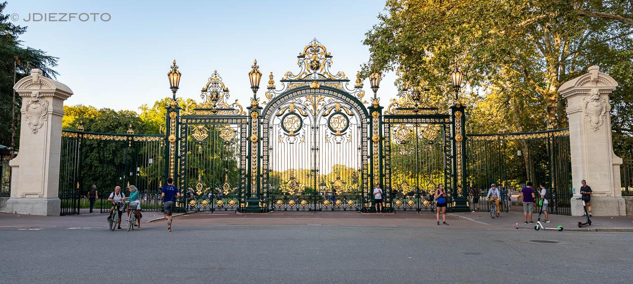 Puerta Parc de la Tête d'Or