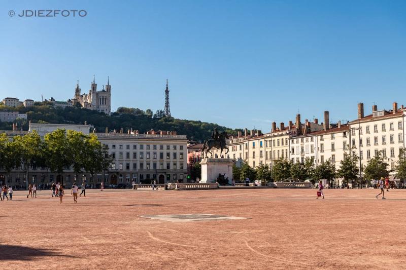 Place Bellecour. Lyon