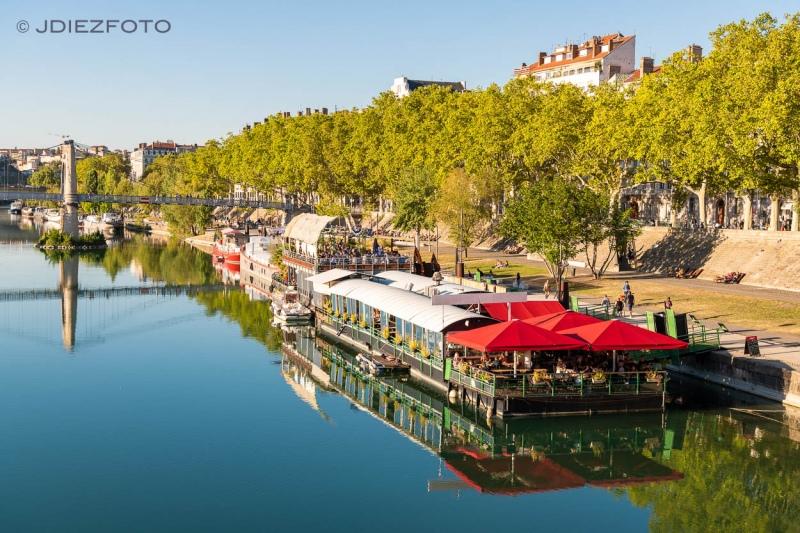 Orillas del Ródano en Lyon
