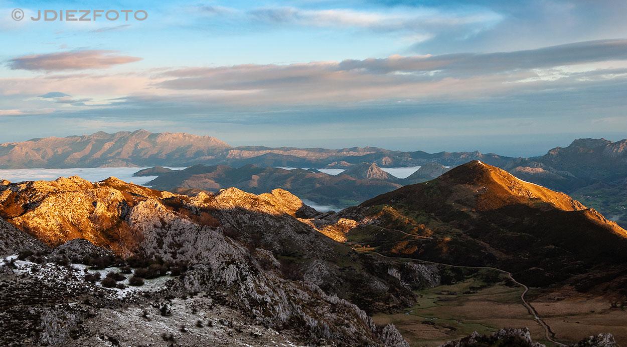 Paisajes desde los Lagos de Covadonga