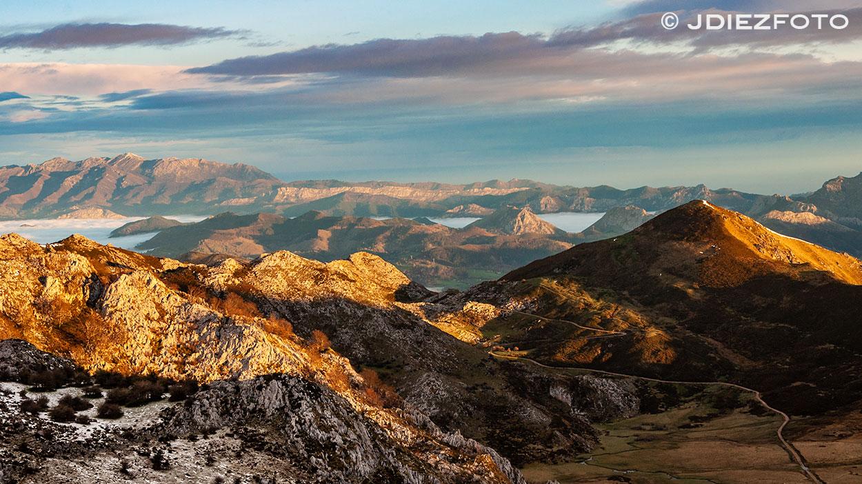 Mar de nubes Lagos de Covadonga
