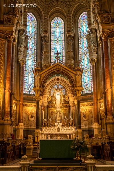 Notre Dame de Fourviere. Lyon