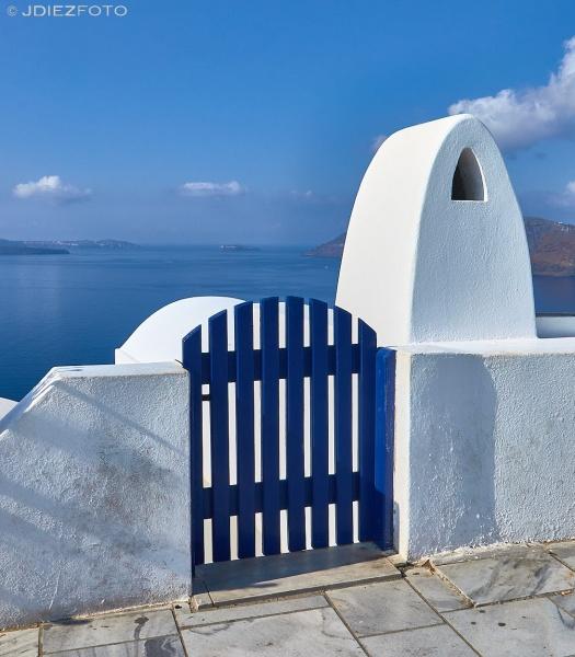Vistas en Oia. Santorini