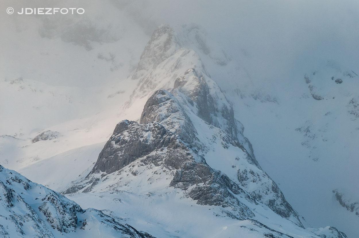 Detalles del amanecer en Picos de Europa