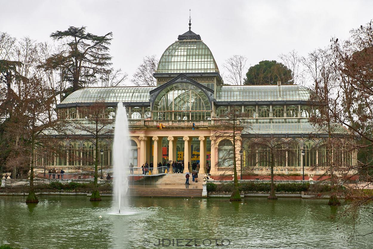 Palacio de Cristal. Parque del Retiro