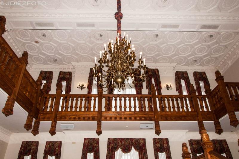 Piso superior de la entrada principal
