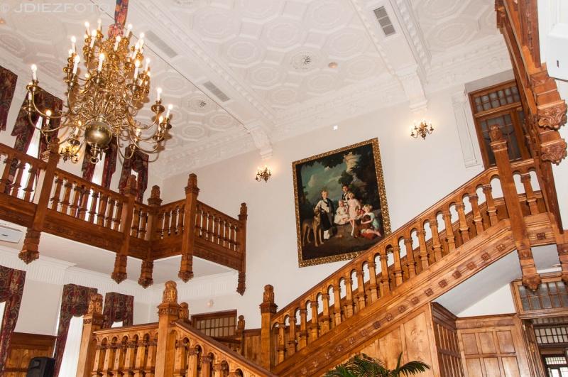 Entrada principal Palacio de la Magdalena