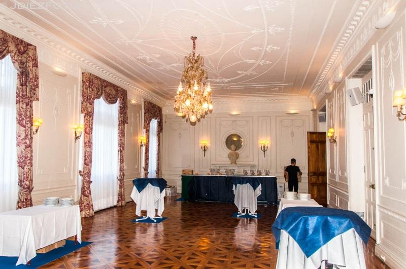 Sala del baile Palacio de la Magdalena