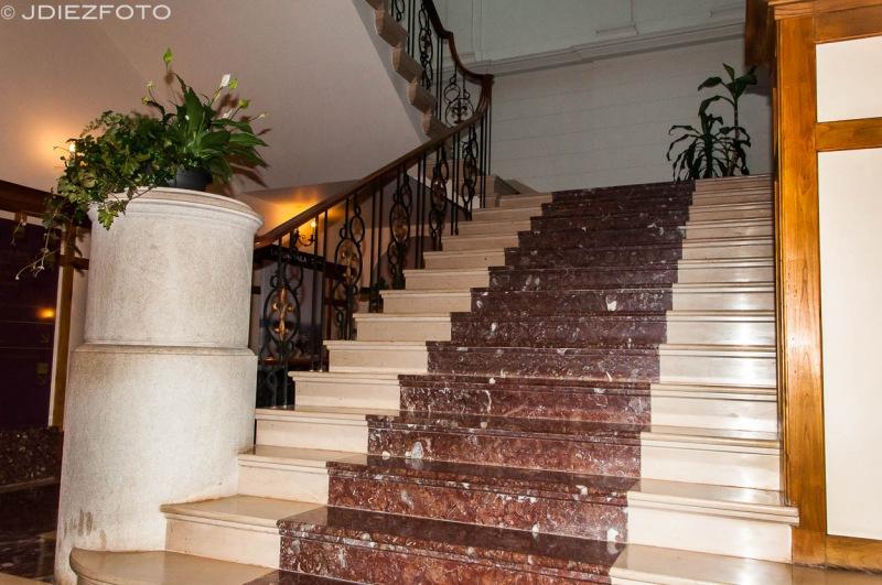 Escalera interior Palacio de la Magdalena