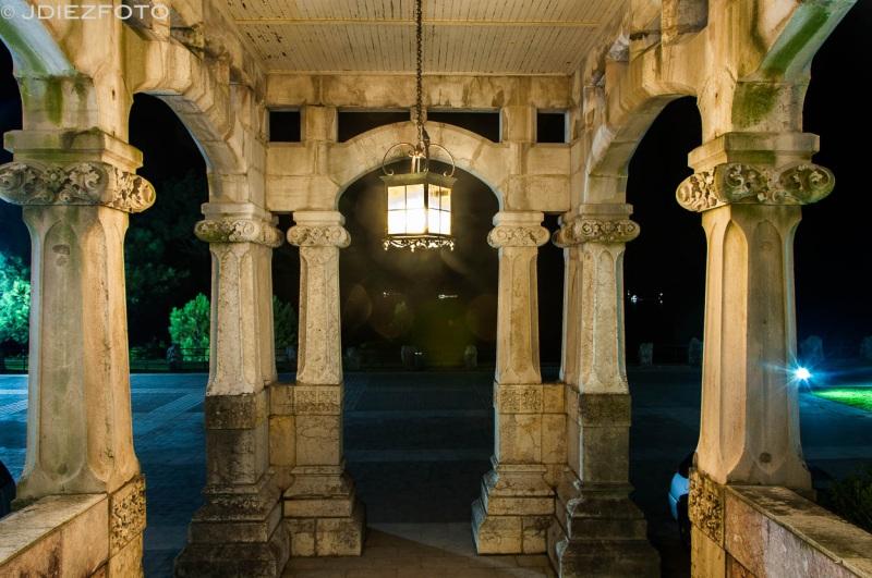 Entrada al Palacio de la Magdalena