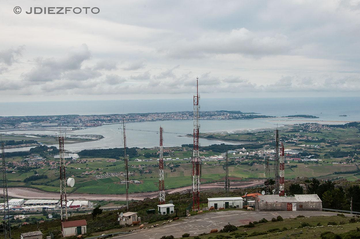 Bahía de Santander desde Peña Cabarga