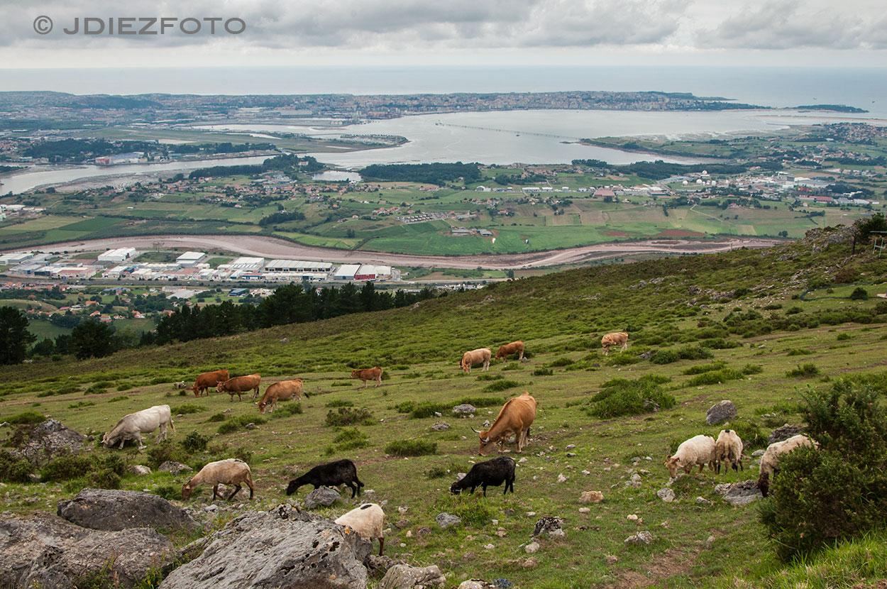 Ría de Boo y Bahía de Santander