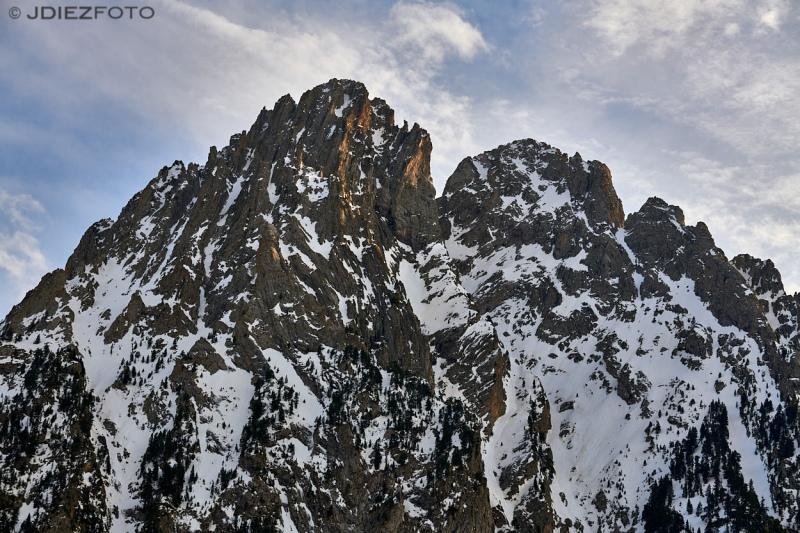 Los Encantados o Els Encantats en el parque Nacional de Aigüestortes