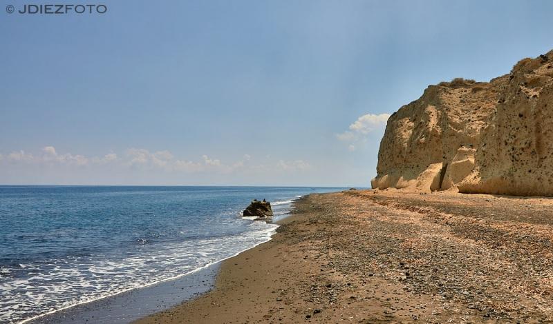 Playa de Cabo Kolumbo Santorini
