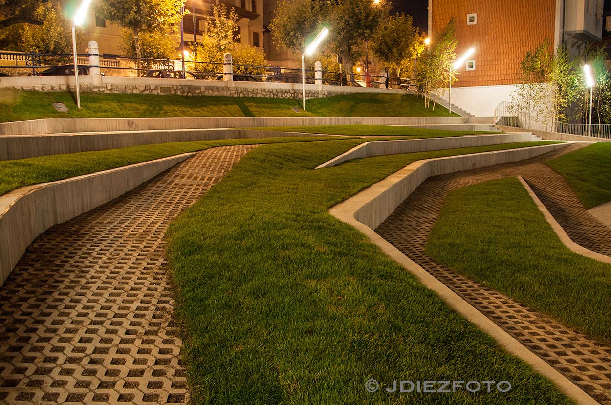 Plaza de San Martín de Noche