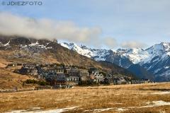 Pueblo de Formigal. Pirineo Aragonés