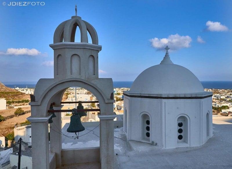 Iglesia de Agios Spyridonas en Emporio