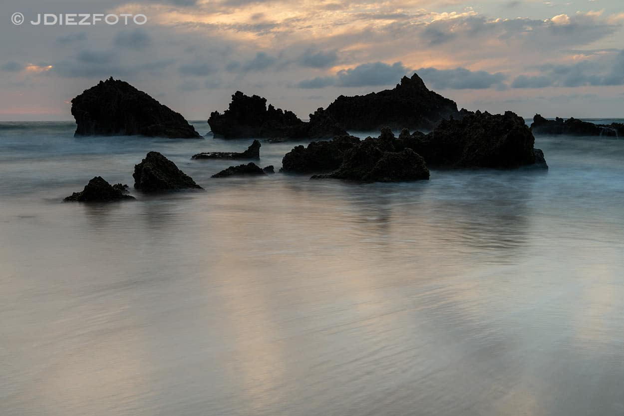 Puesta de sol Playa de Liencres
