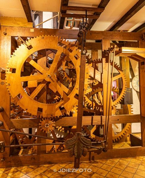 Maquinaria del reloj de cuco de Schonach