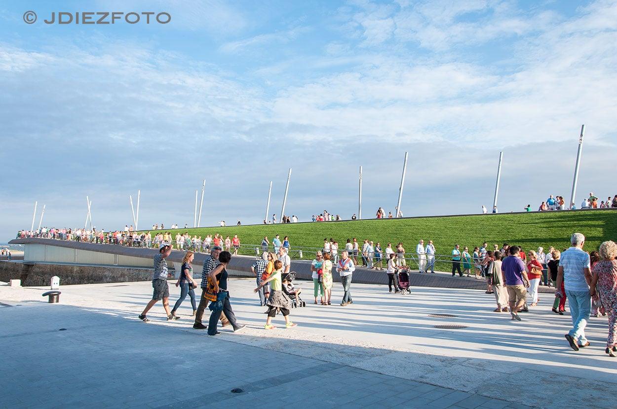 Nuevo espacio de paseo en la Duna de Zaera