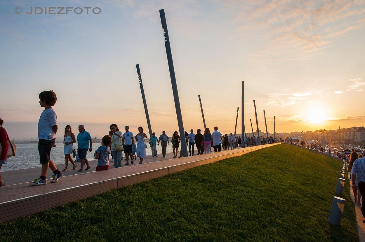 Puesta de sol Duna de Zaera