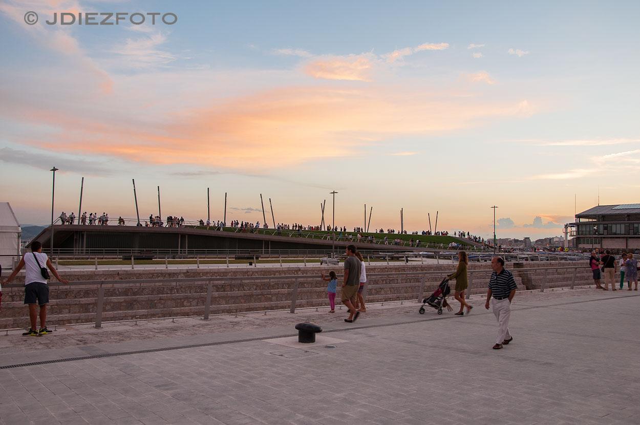 Puesta de sol en la Duna de Zaera