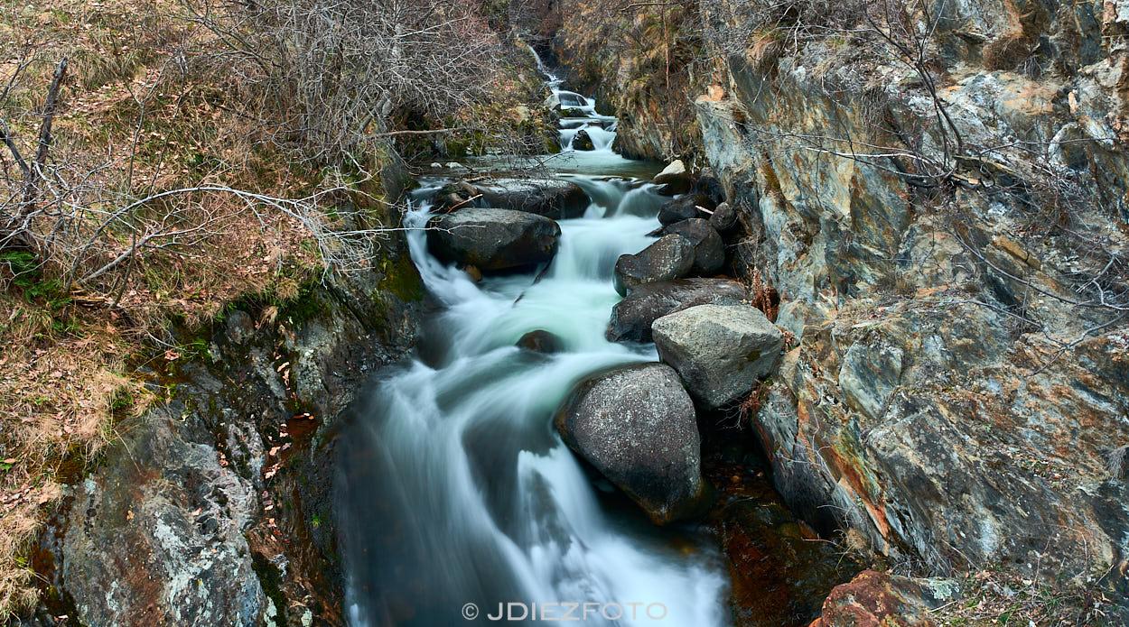 Cascada de la Noguera Pallaresa en Borén