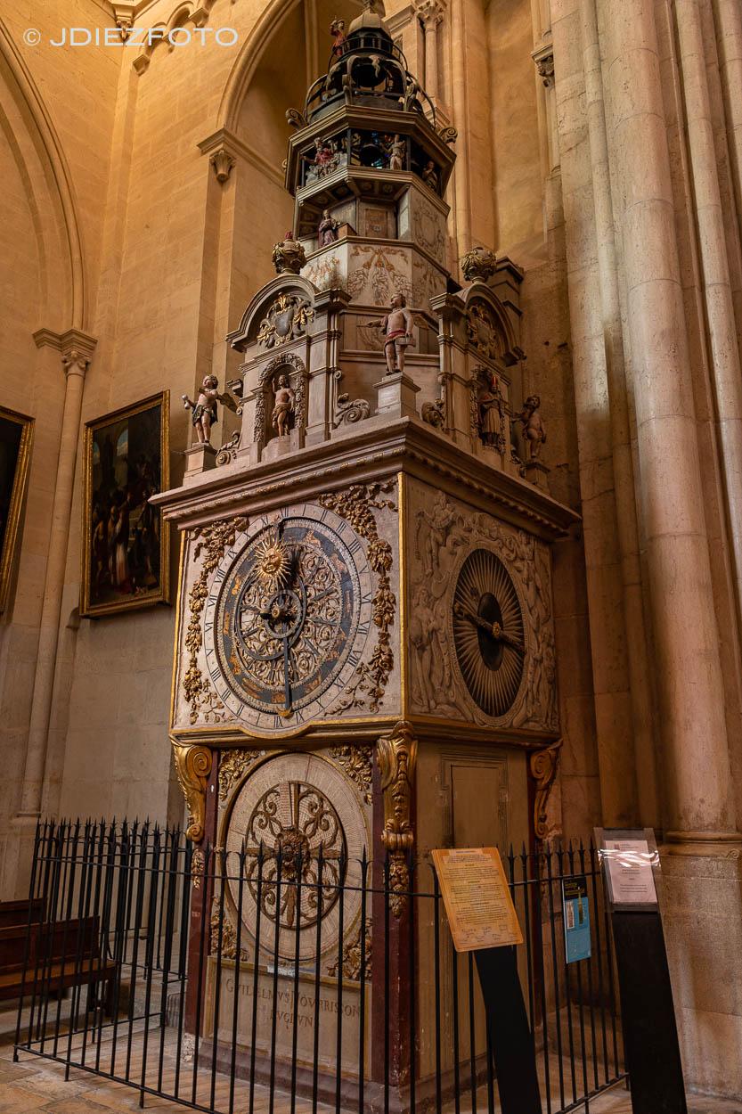 Reloj Astronómico. Catedral de Lyon