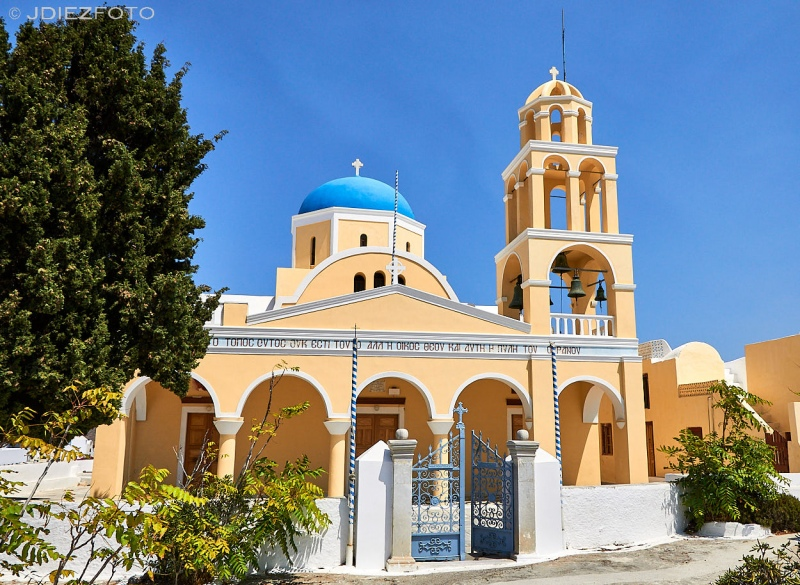 Iglesia de Saint George Oia. Santorini