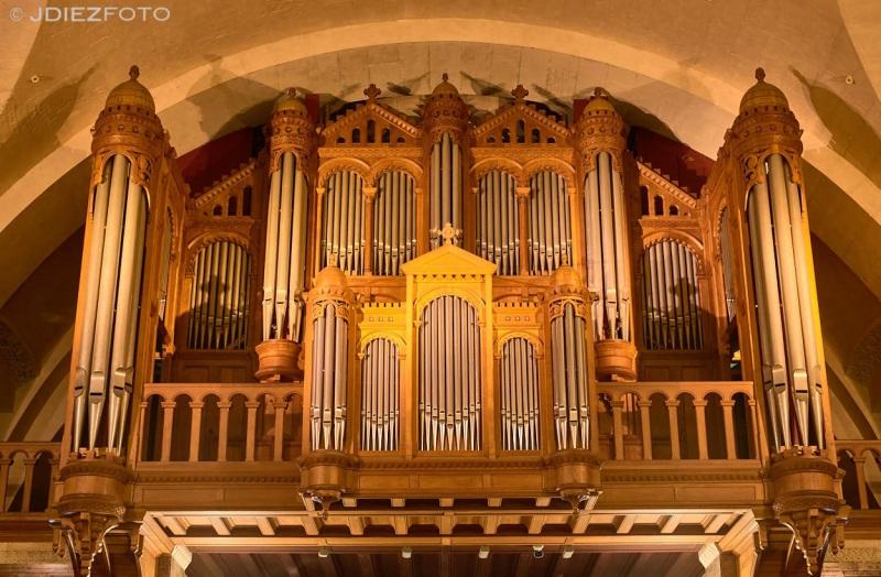 Órgano de la Basíloca de la Inmaculada Concepción