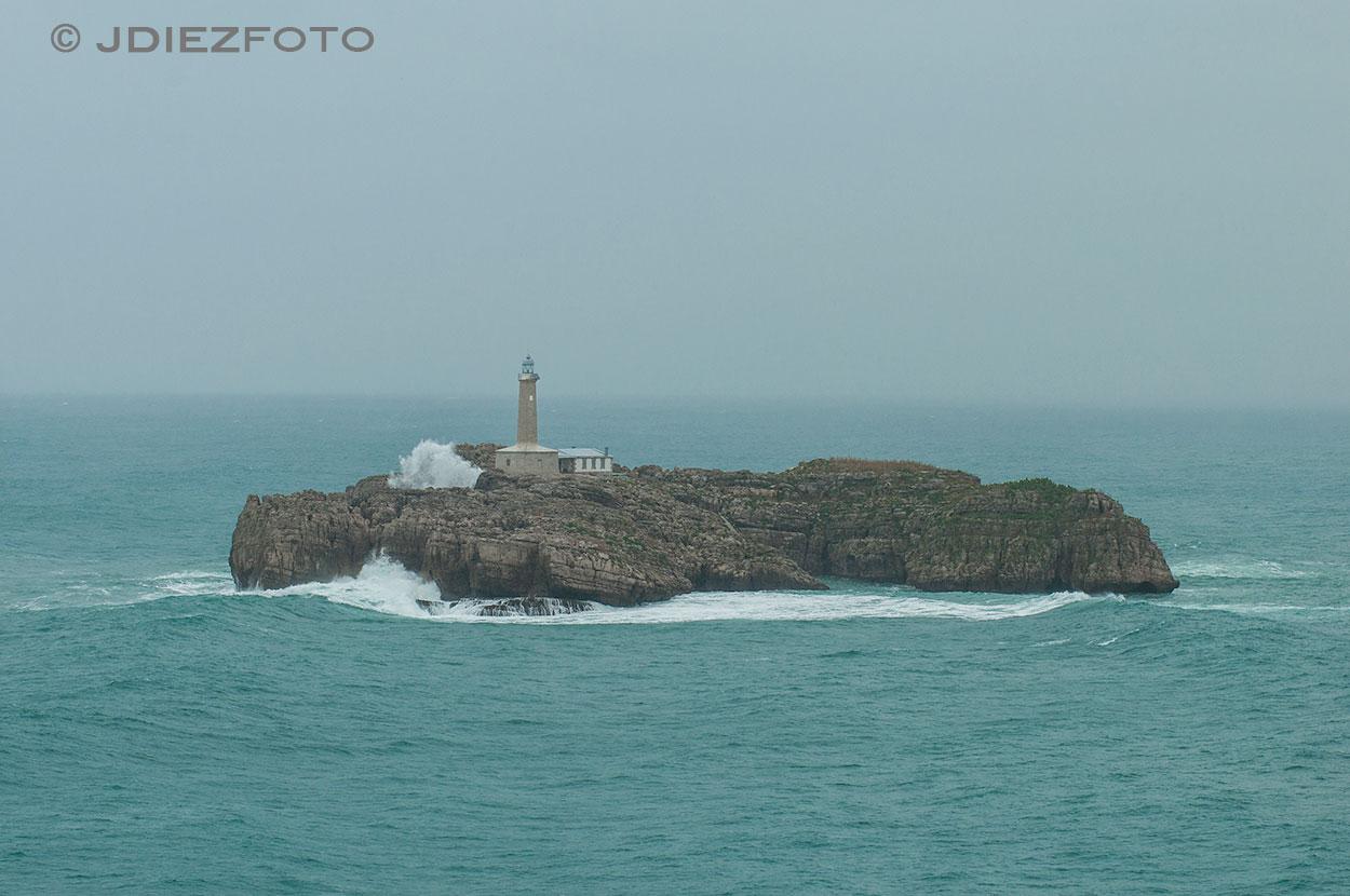 Oleaje Isla de Mouro