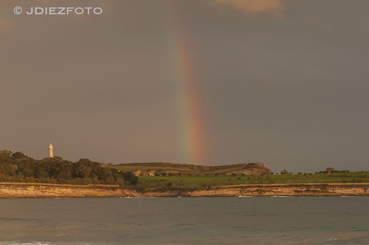 Arco Iris Faro Cabo Mayor