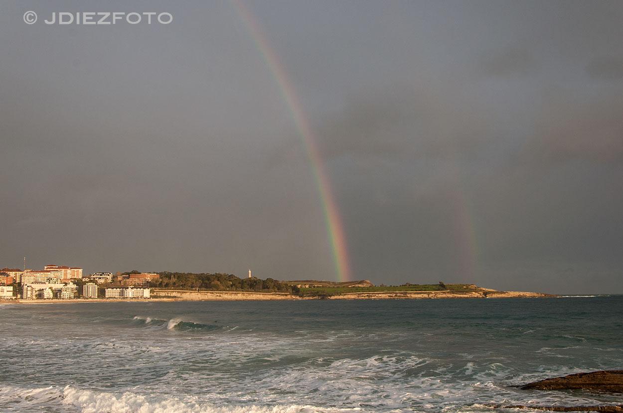 Arco Iris Playa del Sardinero