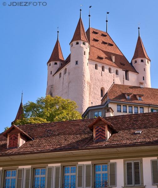 Castillo de Thun. Suiza